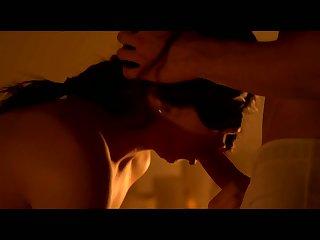 Awesome blindfolded hottie Luna Ruiz sucks dick before being fucked doggy