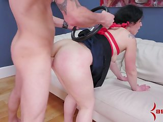 Chubby plighted nympho is characteristic fucked to the fore a hardcore anal sex