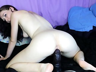 Randy girl riding toys coupled with squirt live webcam