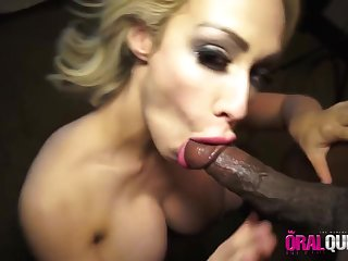 Chessie Kay Gives This Moonless Dick A Blowing Off