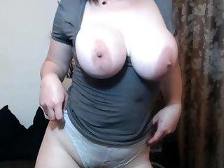Heavy boobs and nipples