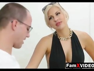 Steamy mommy pummels son-in-law increased by trains daughter-in-law - Total Free Mother Hump Movies at FamXvideos.com