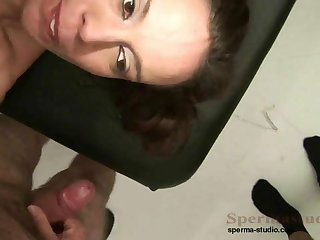 Kinky Brunette Fucks Scores Of Dicks P1-P3