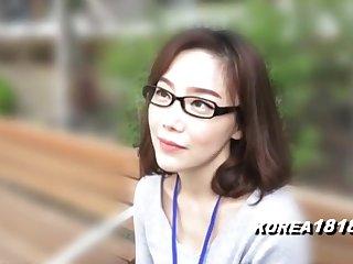 KOREA1818.COM - korean Cutie less glasses