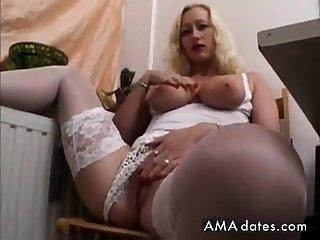 Busty erotic milf amateur