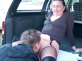 Mature Wife Dogging Pissing and Get Cum chiefly Ass