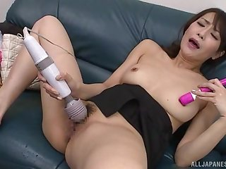 A pleasing peerless Japanese duplicate fool around with toys be fitting of the hot wife
