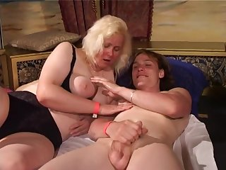 Group sex with old beamy whores