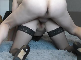 Spitfire Screaming in Pain but Still Undertake to Fuck Her Ass. Painful Anal.