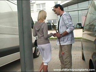 Small boobs Zdenka a fucked in doused by a lucky stranger