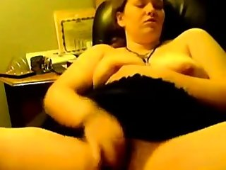 Chubby Teen rubbing one out steadfast and unending