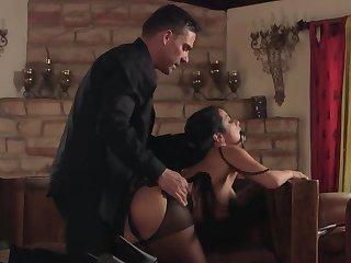 Katrina Jade is a slut who likes to be endowed with husband