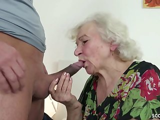 GERMAN ORDERLY CAUGHT GRANNIE JERK Together with Further WITH POKE